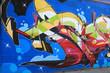 Graffiti Bildwand Kunst Stadtleben