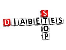3D Crossword Stop Diabetes On ...