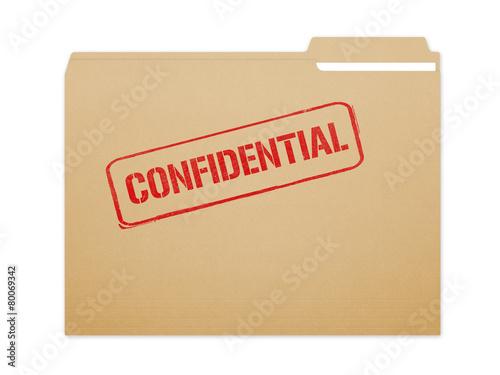 Fotografía  Carpeta confidencial