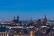 Aachen in der dämmerung