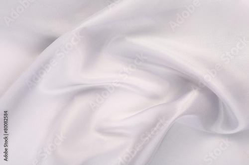 white satin Fototapeta