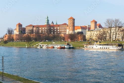 Wawel Castle - Cracow Poland