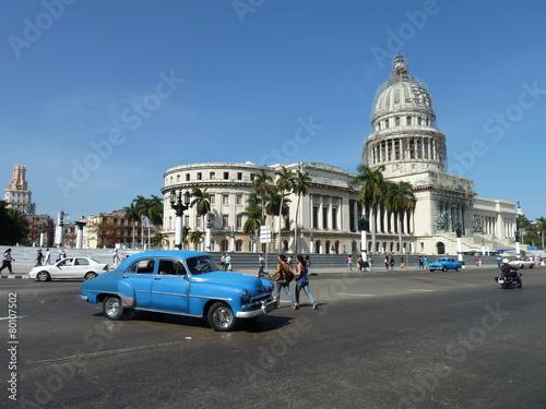 Poster Havana El Capitolio