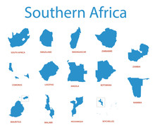 Southern Africa - Vector Maps ...