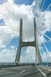 View of the Vasco da Gama bridge - Lisbon