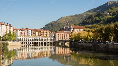 Vista del río Oria en Tolosa