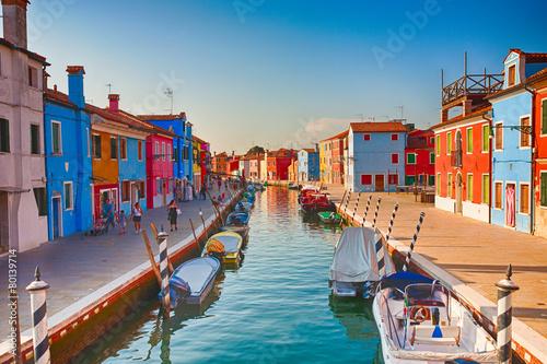 Obraz na plátně Burano, Italien