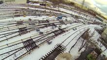 Many Railway Tracks From Metro...
