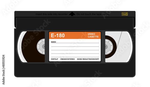Vászonkép  VHS cassette