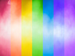 canvas print picture - Rainbow Abstract Background