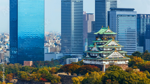 Canvas Prints Japan Osaka Castle
