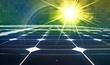 Leinwandbild Motiv Sonnenenergie