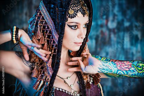 mata magnetyczna folklor