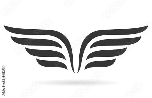Foto  Flügel-Symbol