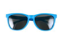 Blue Sun Glasses Isolated