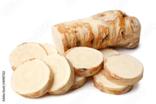 Stampa su Tela Horseradish root