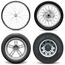 Vector Tires For Bicycle Motor...