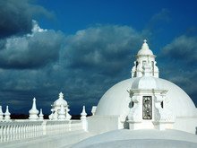 White Washed Roof Top Cathedra...