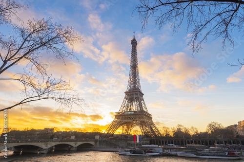 Printed kitchen splashbacks Eiffel Tower, Paris, France