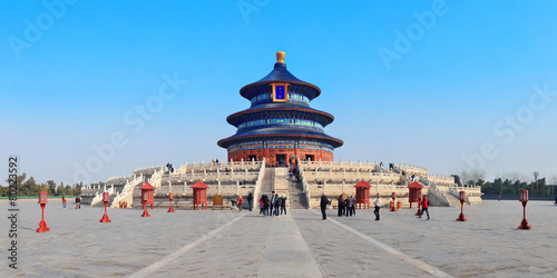 In de dag Peking Temple of Heaven
