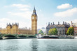 canvas print picture - Big Ben in sunny day, London