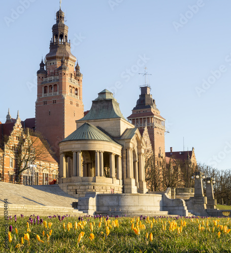 Tarasy Hakena,(wały chrobrego),szczecin,Polska