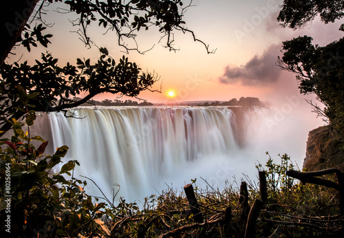 Photo Stands Black Victoria Falls