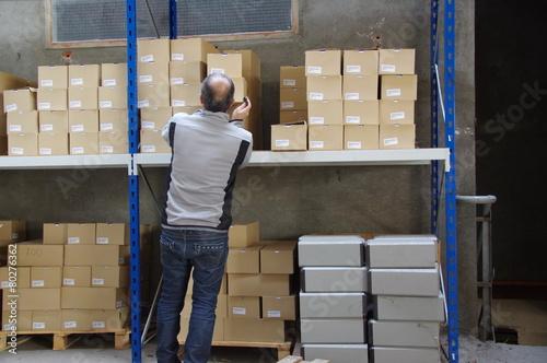Fotografía  service logistique