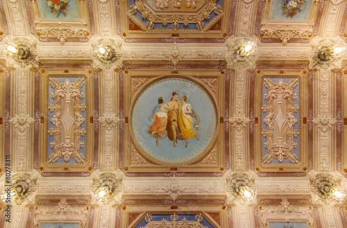 Fotografie, Obraz  Italian fresco
