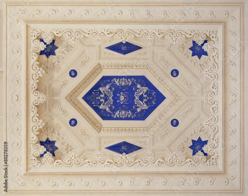 Fotografía  Blue Italian fresco