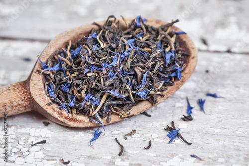 Photo  Earl Grey Tea Leaves