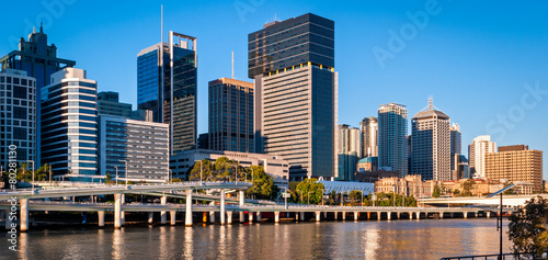 In de dag Australië Brisbane skyline, Australia