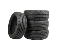 Tires Isolated On White, Speci...