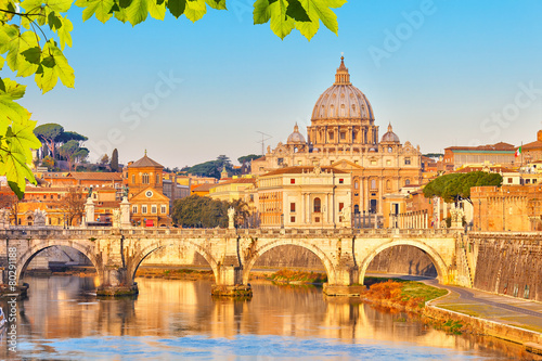 Canvas Prints Rome St. Peter's cathedral in Rome