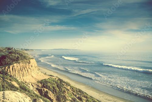 Plakat Encinitas California Ocean Shore