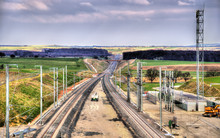 High-speed Railway LGV Est Pha...