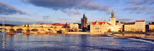 Staande foto Praag Panoramic view of old town Prague, Czech Republic