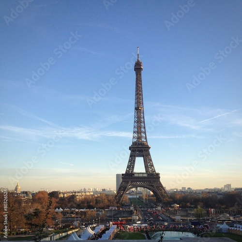 Papiers peints Paris tour eiffel