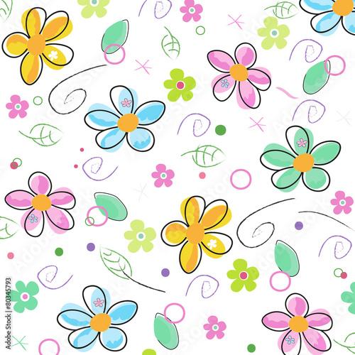 kolorowa-doodle-wiosna-kwitnie-tlo