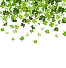 St. Patrick's Day Vector Backg...