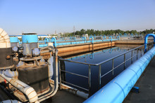 Water Treatment Plant - Water Treatment Plant Within The Pumps And Pipelines