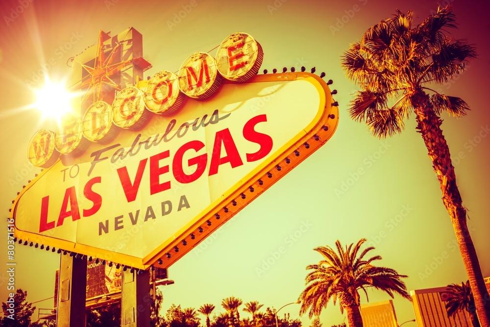 Poster  Berühmte Las Vegas Nevada