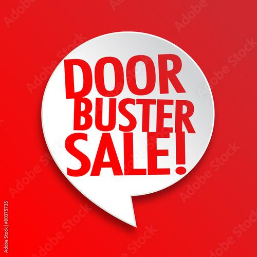 Doorbuster sale  sc 1 st  Adobe Stock & Doorbuster sale - Buy this stock vector and explore similar vectors ...