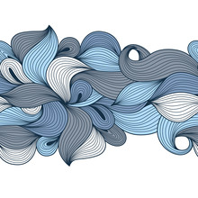 Abstract Ornament Wave