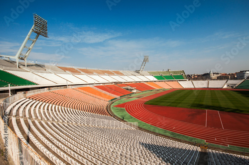 Foto op Plexiglas Stadion Football stadion