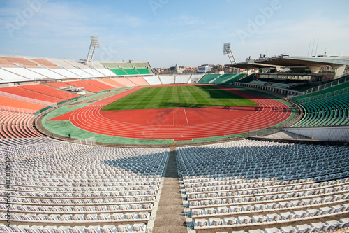 Foto op Canvas Stadion Football stadion