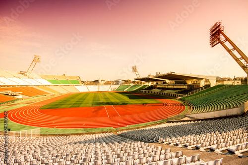 In de dag Stadion Football stadion
