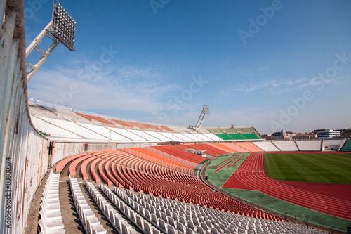 Spoed Foto op Canvas Stadion Football stadion