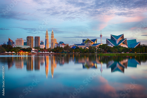 Photo  Kuala Lumpur Skyline