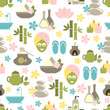 seamless pattern from Spa of elements